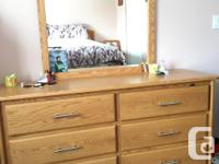 This beautiful box bed is made from real oak, comes
