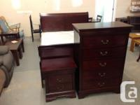 Brand new complete bedroom suite with sleigh bed in