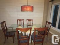 This dining room set is a very high quality piece of