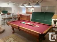 *Moving must sell! Price Reduced!*  Complete games room