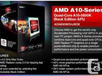 Included:  *AMD A10-5800K Trinity 3.8GHz (4.2GHz Turbo)