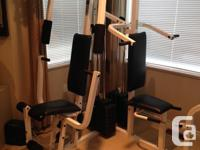Weider pro 9635 Complete Home Gym Like Brand New. 8