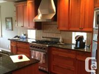 Complete high-end large kitchen package for sale.