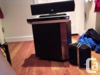 LG prime sound system- comes with everything including
