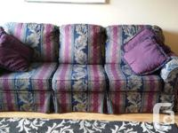 Couch as well as matching couch. Sofa is a queen take