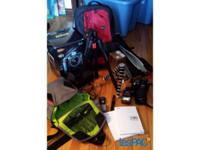 I'm selling my complete Nikon D-90 kit with all its