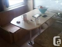 Complete lightly used dining nook from 2007 Jayco Eagle