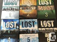 We have the complete collection of LOST for sale.