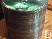 72 DVDs in excellent condition. No cases. Complete