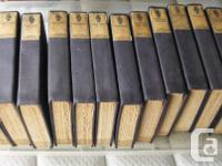 Complete set of books original antique short stories by