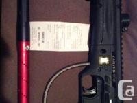 Selling my tippman carver paintball gun, bought brand