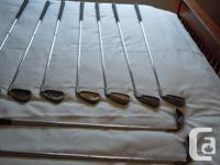 Complete set of top of the line Ping Golf Clubs Must