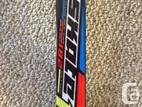 Saloman skate10 182skis with Saloman pilot bindings and