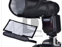 New in Plan 2 in 1 Collapsible Reflector & Beam Snoot.