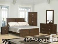 8 PC BRAND NAME NEW BEDROOM COLLECTION SET AVAIALABLE