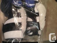 Brand New Bauer Nike Pro Light Rate Arm joint Pads up