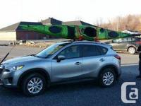 EXPLORING KAYAK.  .1 pc paddle inc . Flexible rudder .