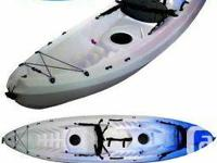 SIT-ON-TOP KAYAK WITH CHILD'S SEAT & ROD HOLDERS.  .1