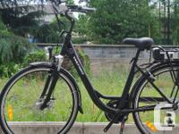 The VoltBike � Elegant is the very best looking unisex