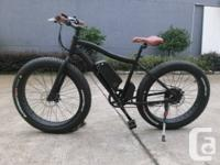 Brand New electrical fat bike 48v 500w  Electric