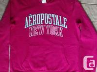 Brand New - Ladies Aeropostale Pink Hoodie in excellent