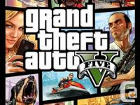 I'm selling a brand new copy of GTA5 for the Xbox 360