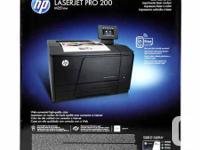 Brand name brand-new SEALED HP LaserJet Pro 200