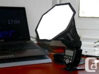 "Brand name New in Plan 8"" Octagonal Softbox for Speed"