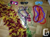 Offering a dozen party beads, 3 event courses, and also