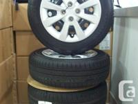 Kumho Solus KH25 all period tires. Tire size is