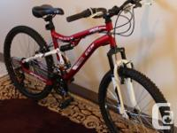 brand name new bike for sale, got 2 months ago for 380