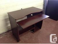 Used computer desk in very good condition..$50. Amazing