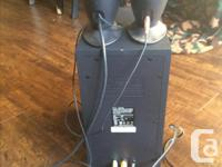 Computer speakers and sub for sale, in good condition