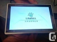 COMPUTER TABLET, Wifi, Cam, Internet, 3g, Chinese LIVAL