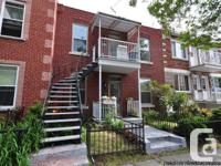 CONDO FOR SALE MONTREAL ROSEMONT - 3 BEDROOMS - Nice