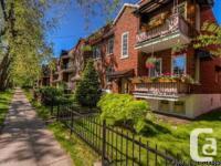 Condo La Petite-Patrie Montréal à vendre 2 chambres -