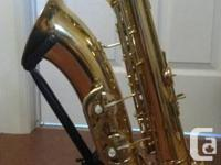 This was my first professional saxophone and I have