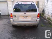 Make Ford Version Escape Year 2004 Colour Silver kms