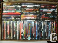 Have 50 excellent dvd flicks to sell-$2.00 each. -view