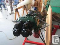 This engine has been maintained in very good condition