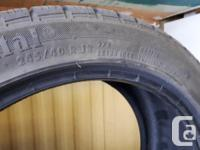 $250 a pair, 4 tires in total, 2 different sizes.