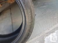 235/45R 19 95H - All season tires off of a 2015 Ford