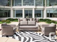 Outdoor seating from lounge chairs to sectionals to