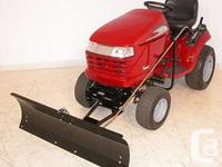 Specialist snow cutter used for one period for a trip