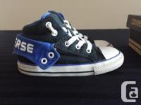 Brand: Converse Style: CT PC2 MID BLACK/ ROYAL Converse