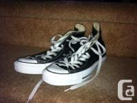Two pairs available. Chuck Taylor Converse All Star