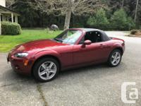 Make Mazda Model MX-5 Miata Year 2006 Colour Red with