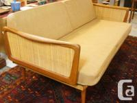 Convertible Settee Daybed by Legendary France & Sons