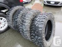 Cooper Discoverer Tires 35x12.50R 20LT (M+S) Set of 4