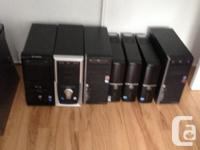 I have a lot of used desktop pc(only the tower) its all